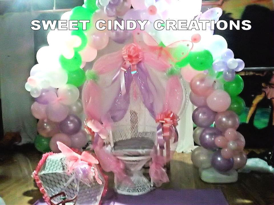 Butterfly baby shower decorations sweet cindy creations for Baby shower decoration butterfly