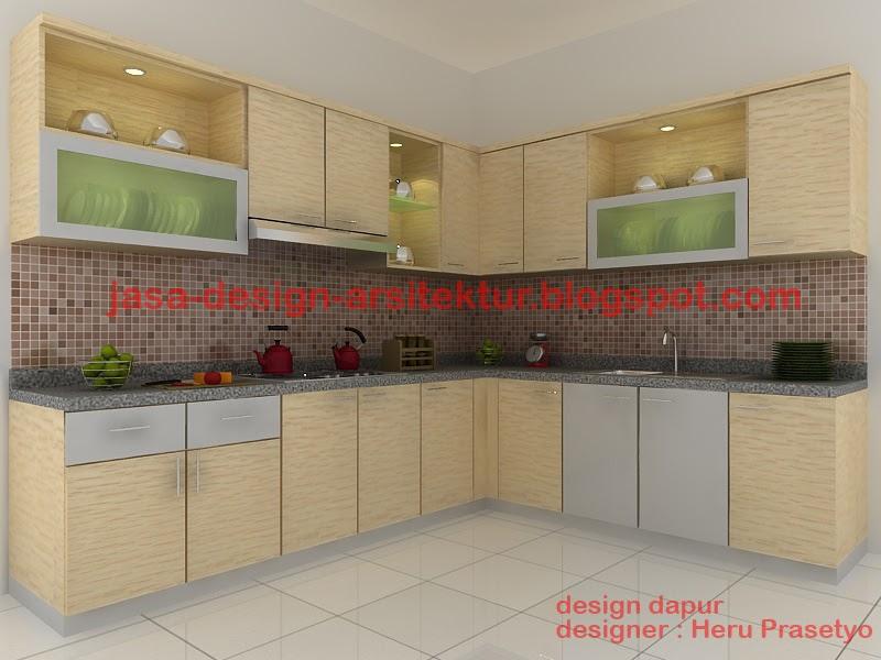 Kontraktor Interior Surabaya Sidoarjo dapur minimalis