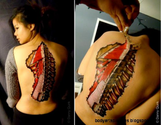 Anatomical Body Art Made With Sharpies – Enpundit
