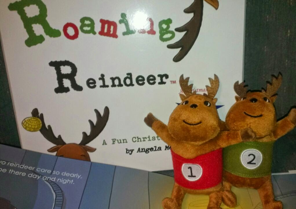 roaming reindeer set 1