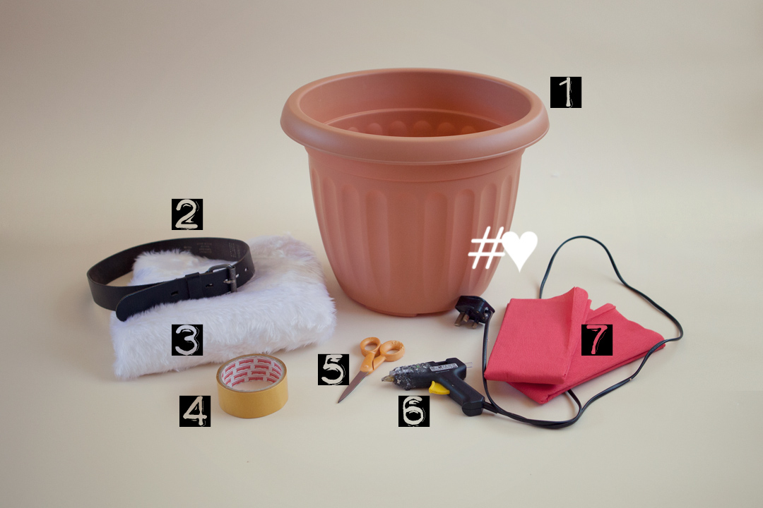 how to make a round paper bucket