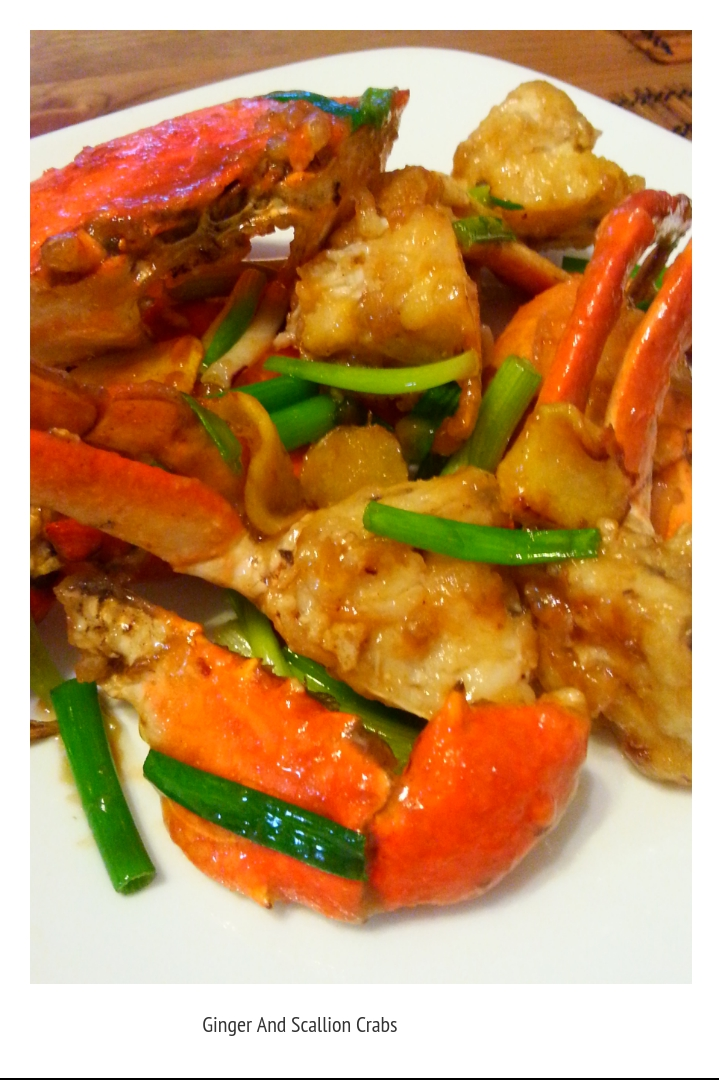 Hani's Kitchen: Ginger And Scallion Crab