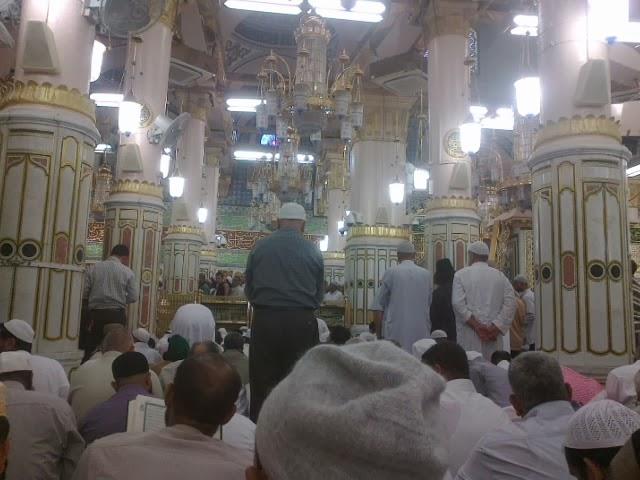 raudhoh masjid nabawi