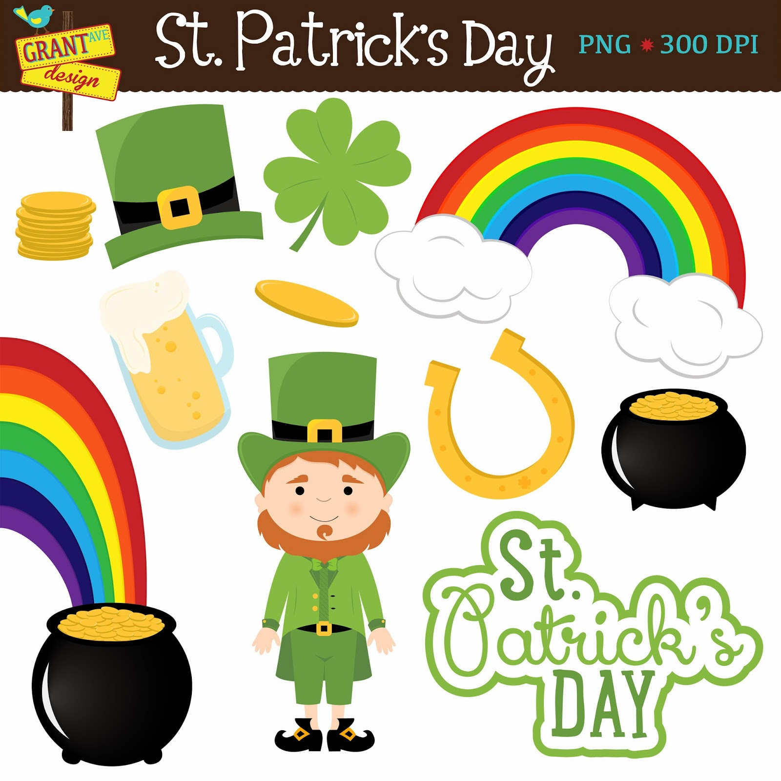Cute St. Patrick's Day Clip Art