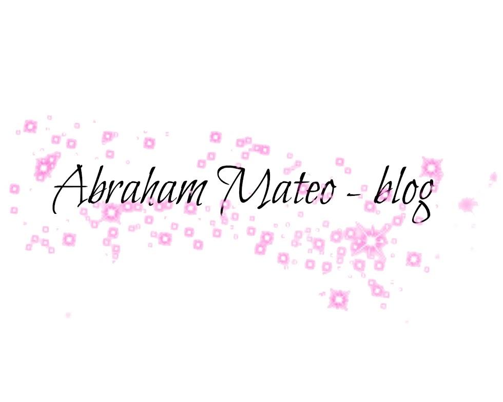Abraham Mateo Blog