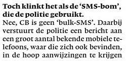 SMS-bom