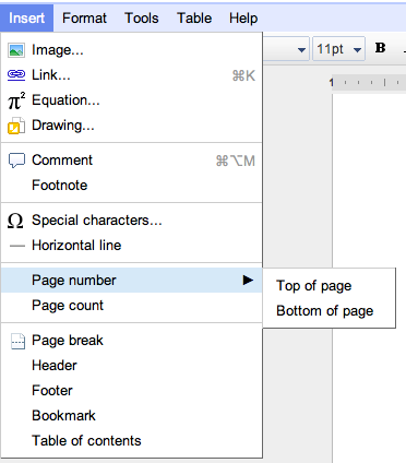 put pdf documents in one google