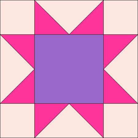 Free Quilt Pattern For 8 Point Star : QUILT 8 POINT STAR PATTERN My Quilt Pattern