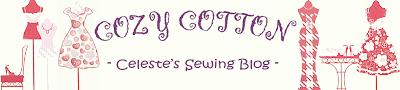 CozyCotton: Celeste's Sewing Blog