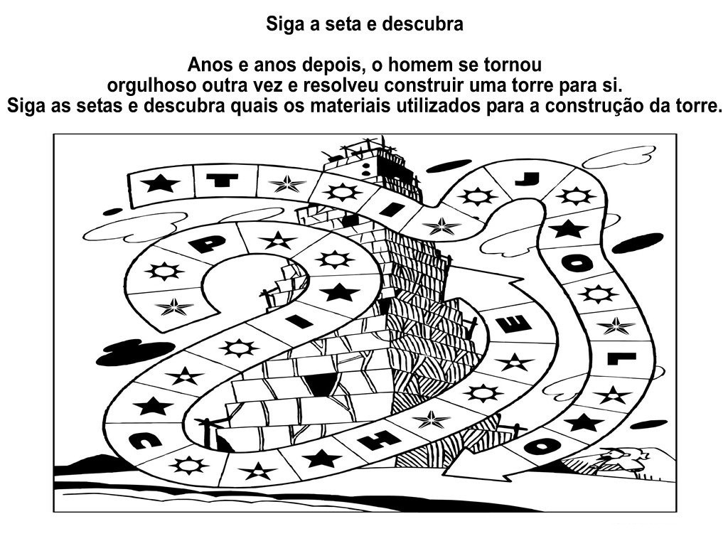 Amado Ministerio Gospel Infantil: TORRE DE BABEL CC15