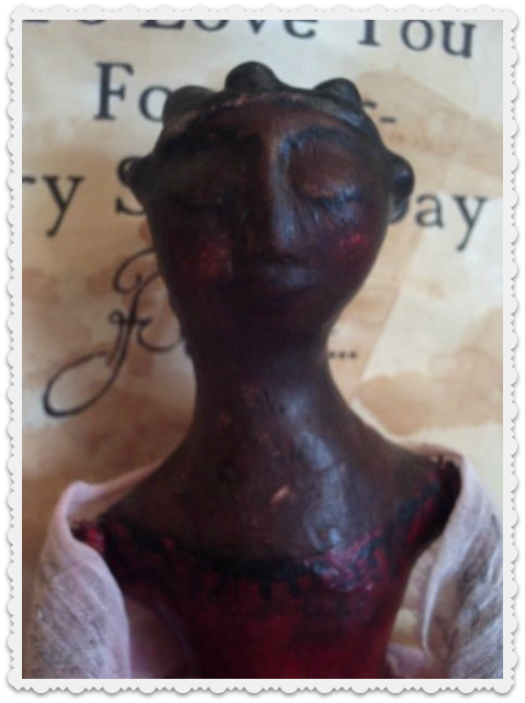 Recycled Cloth Doll