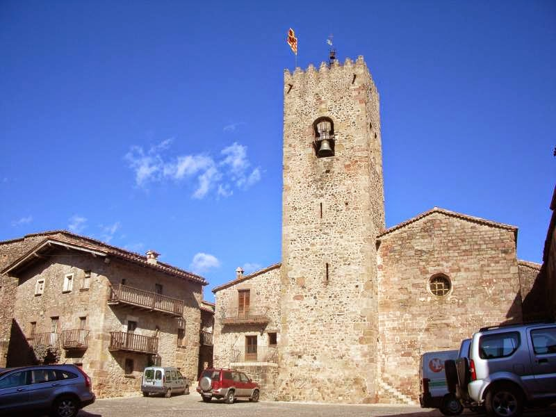 Medieval village of Santa Pau