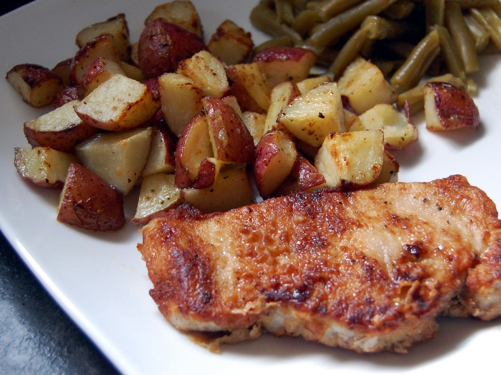 Twopacket Pork Chops And Ranchroasted Potatoes