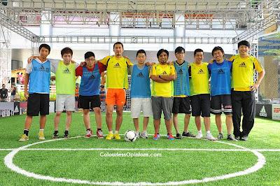 adidas EXTREME POWER 5's Futsal feat. Alan Yun, Zahid, Ben Ibrahim & Steve Yap