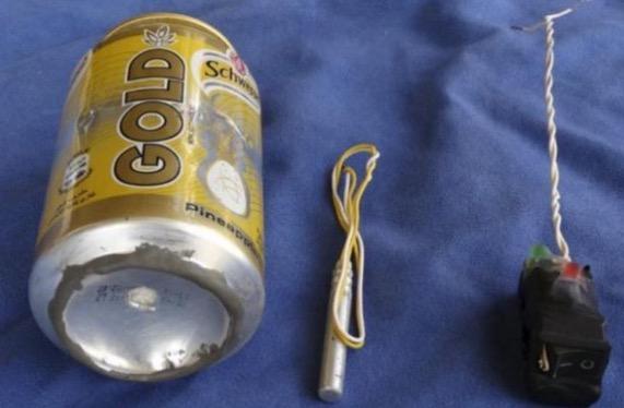 Minuman 'Schweppes' digunakan sebagai peledak oleh IS