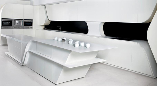 cuisine blanche - Cuisines Blanches Design