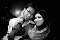 Me with My Hubby..