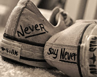 Say never♥.