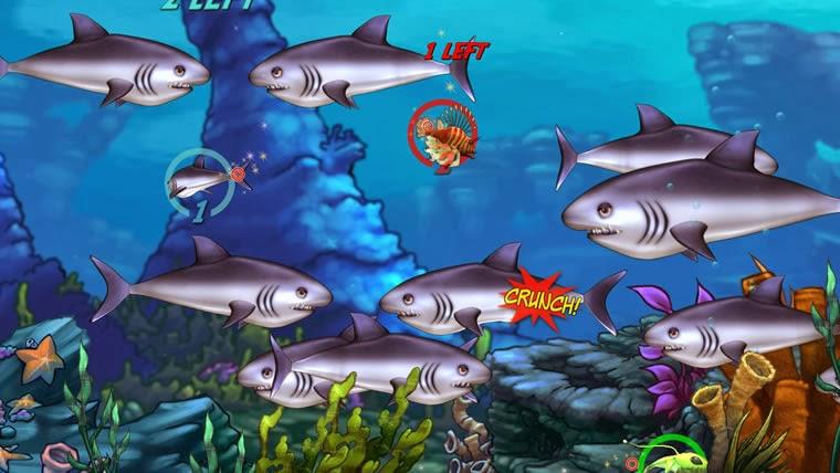 Pc games free download full version download here feeding for Feeding frenzy fish