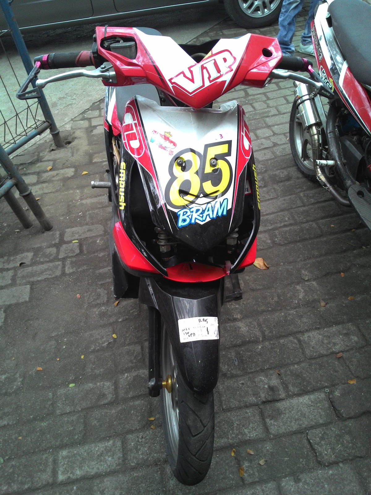 Variasi Motor Mio Road Race top
