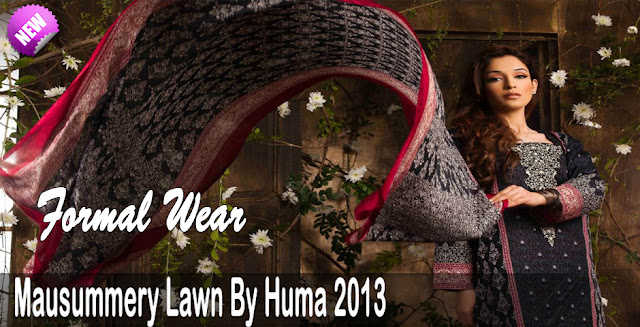 Mausummery Lawn By Huma Summer Collection 2013