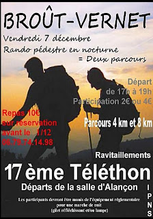 Téléthon 2012 Brout-Vernet