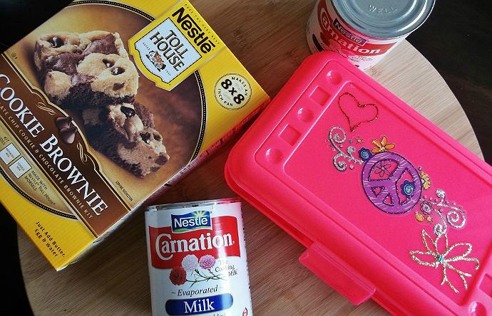 Nestle Baking Kits Cookie Brownies
