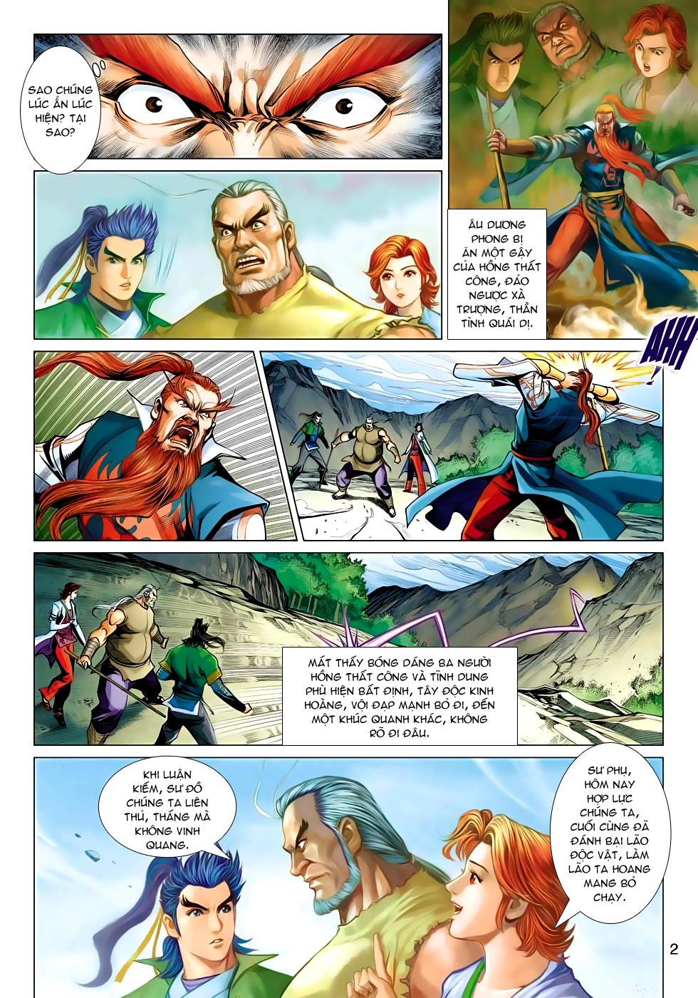 Xạ Điêu Anh Hùng Truyện chap 100 – End Trang 2 - Mangak.info