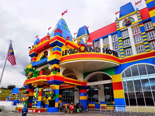 Nora Danish Kutuk Hotel Legoland (3 Gambar)
