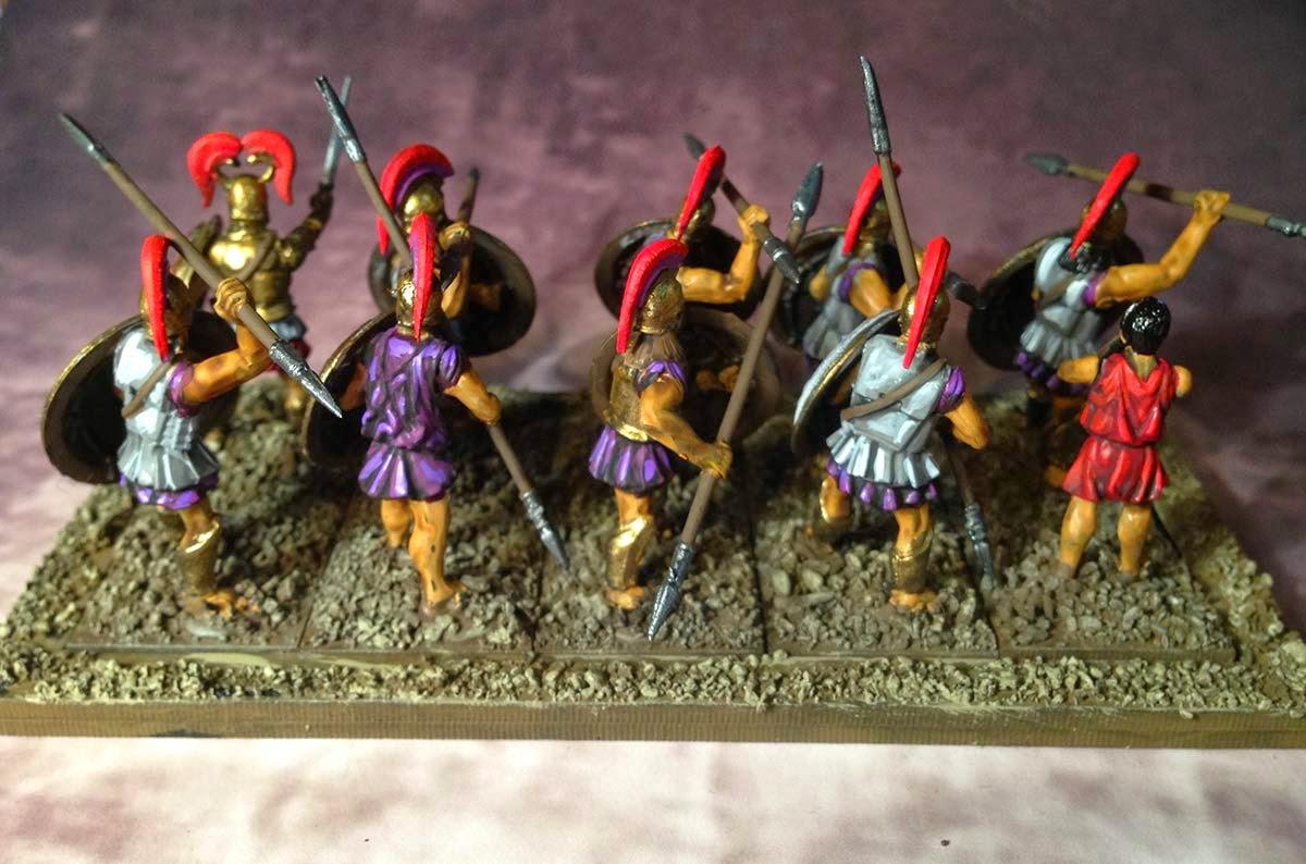 Hail Caesar Greeks