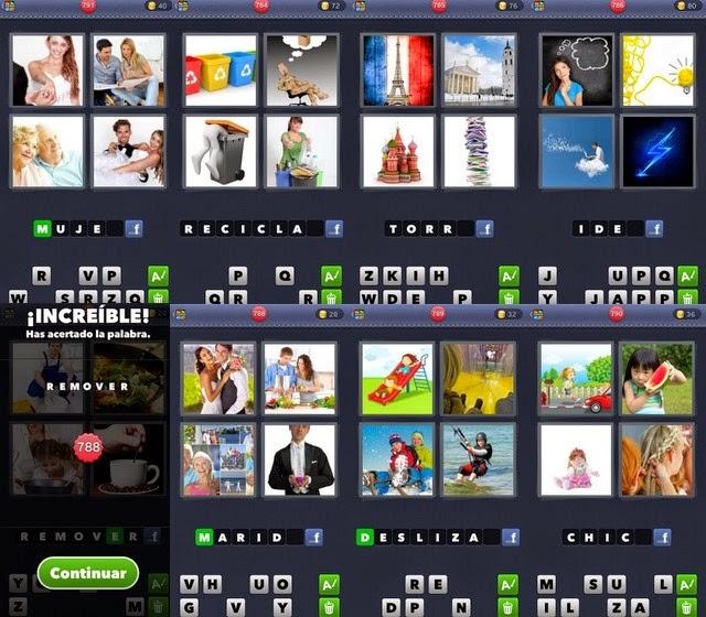 4 Fotos 1 Palabra Todas las Respuestas!