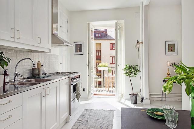 Cute swedish apartment
