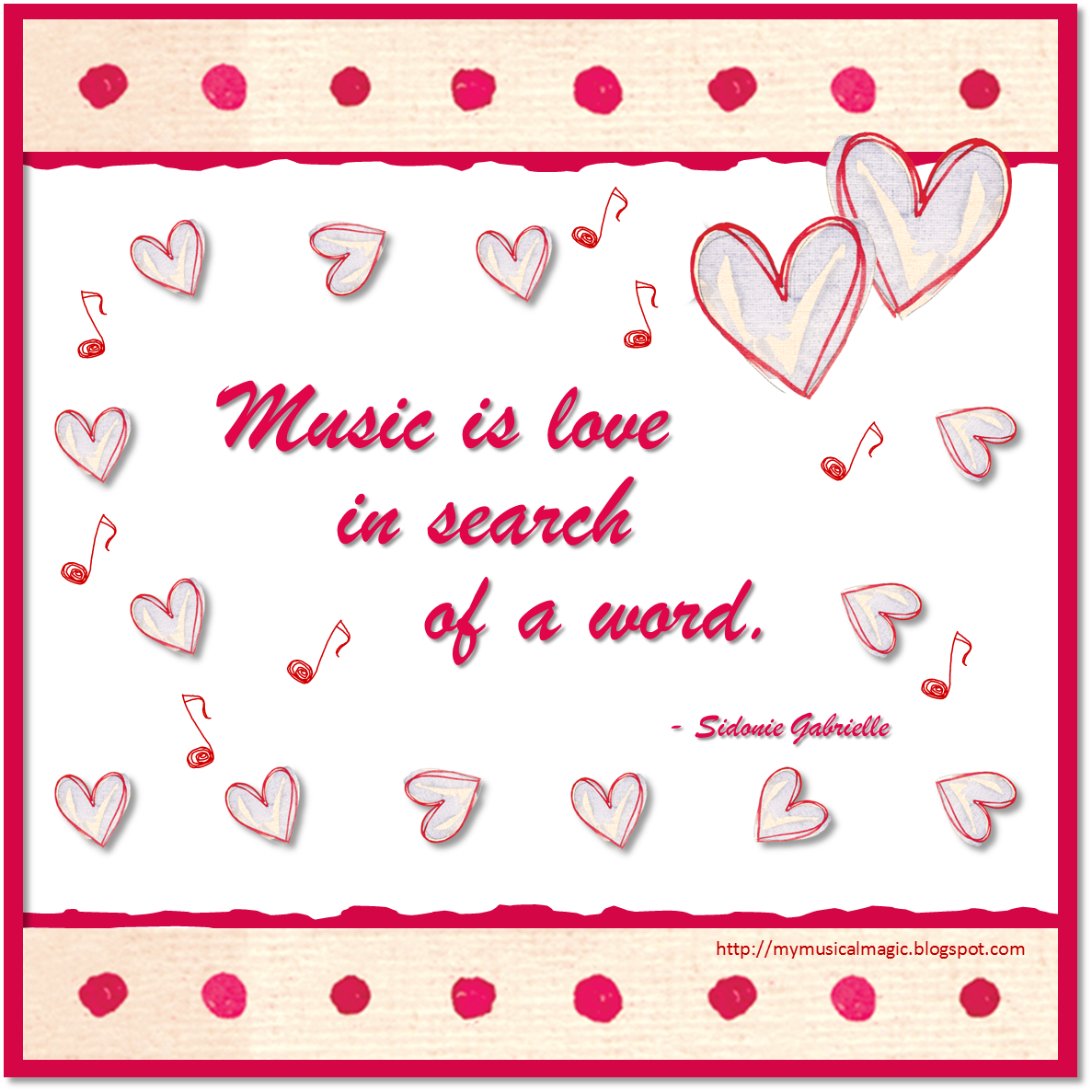 MyMusicalMagic Music Activities with a Valentines Theme – Musical Valentines Day Cards
