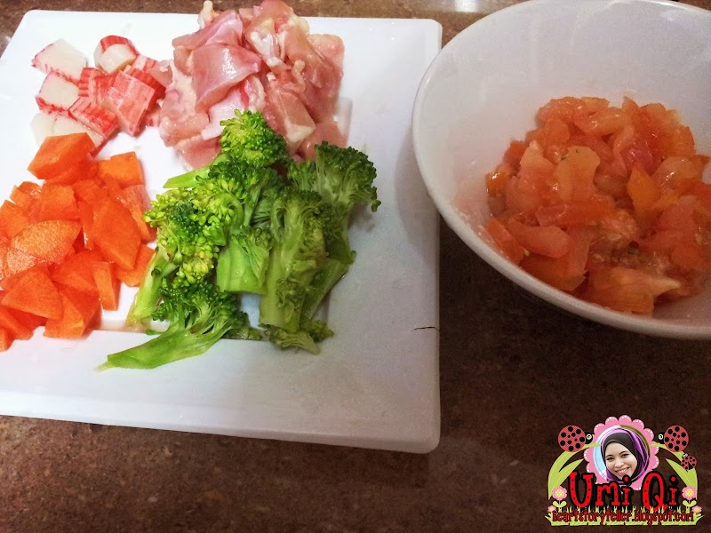 Toddler Recepi: Broccoli Tomatoes Soup Qi