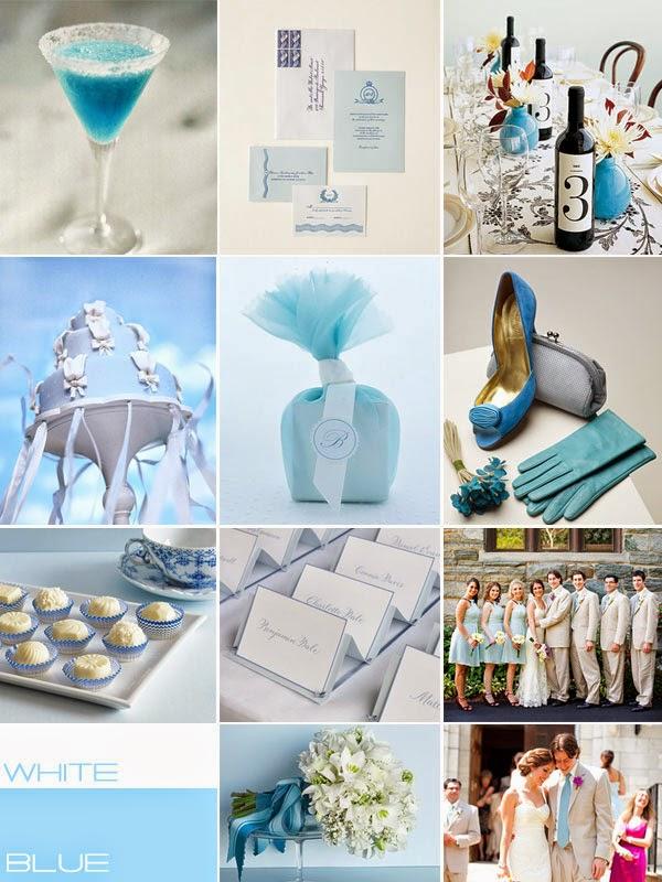Blue And White Wedding Theme|http://refreshrose.blogspot.com/