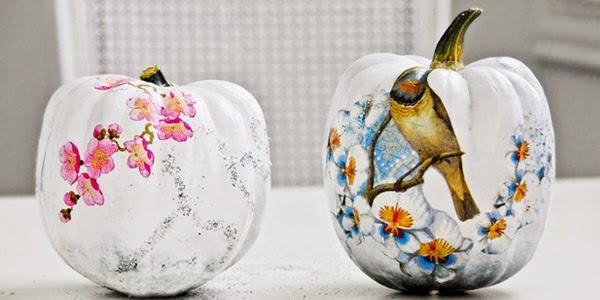 Calabazas de Halloween Forradas