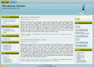 free 3 column wordpress themes