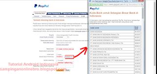 isi informasi pendaftaran formulir bank lokal