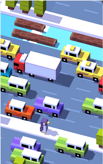 لعبه Crossy Road جوجل بلاي