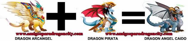 como hacer el dragon angel caido de dragon city formula 2