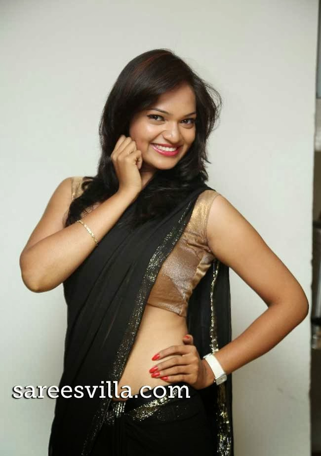 South Indian film actress Aswi