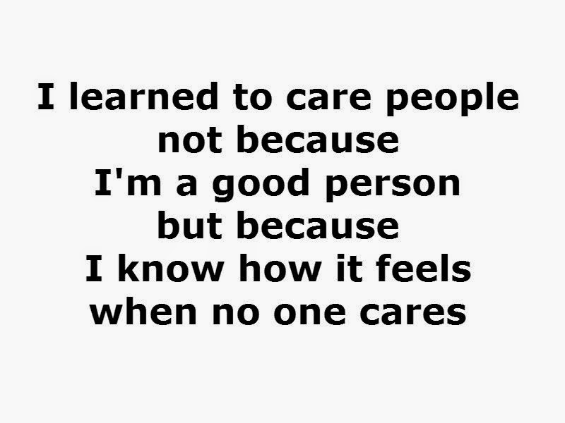 Quote And WhatsApp Status About Care People | Status Quote Which ...