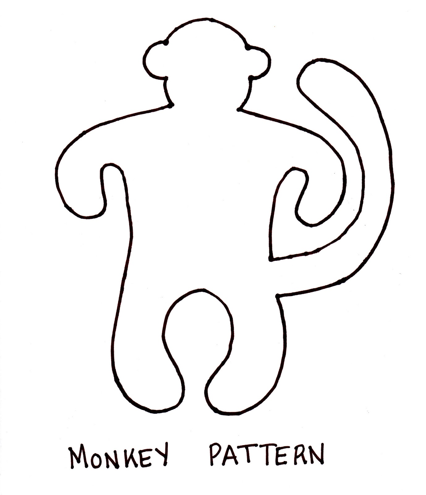 Monkey Outline Car Interior Design