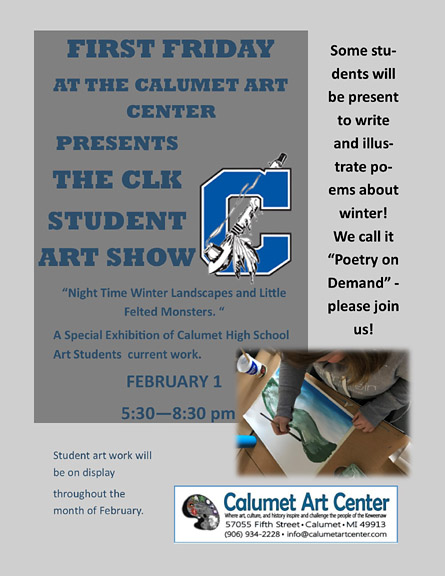 Calumet Art Center hosts student art