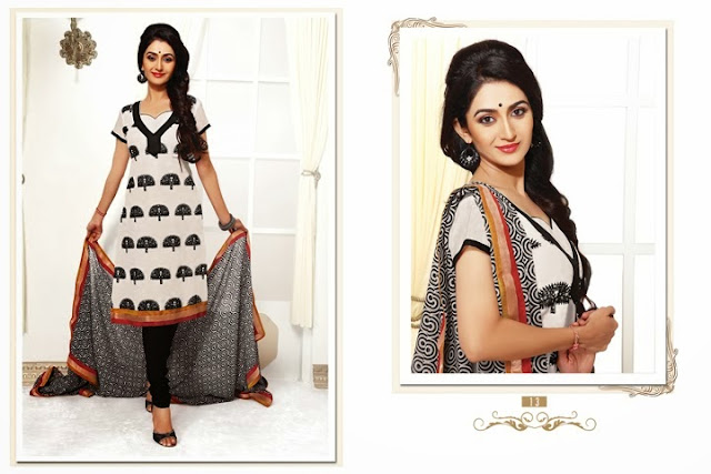 Chanderi jaquard Churidar Suit, Designer chanderi Salwar kameez, Manufacturer and Exporter of Chanderi Cotton Suit