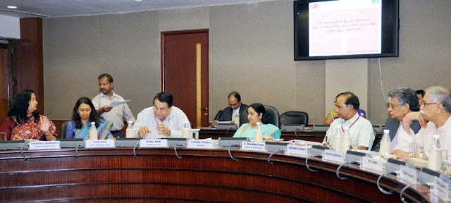 Minister Smt. Sushma Swaraj chairs 4th Meeting of IDF-OI