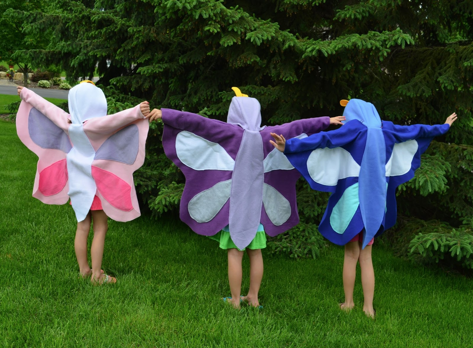 How to make butterfly costume wings - photo#19