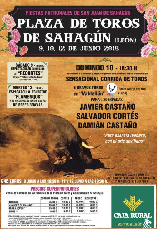cartel toros Sahagún León