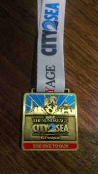 My participants medal