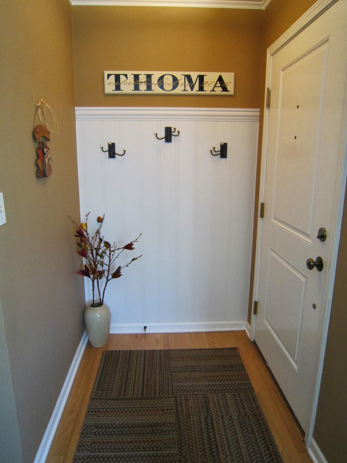 entryway, foyer hooks